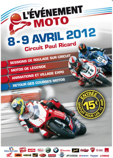 Circuit moto Paul Ricard