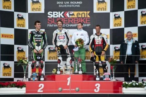 Superstock 1000 podium