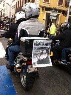cannes moto - Je suis Charlie