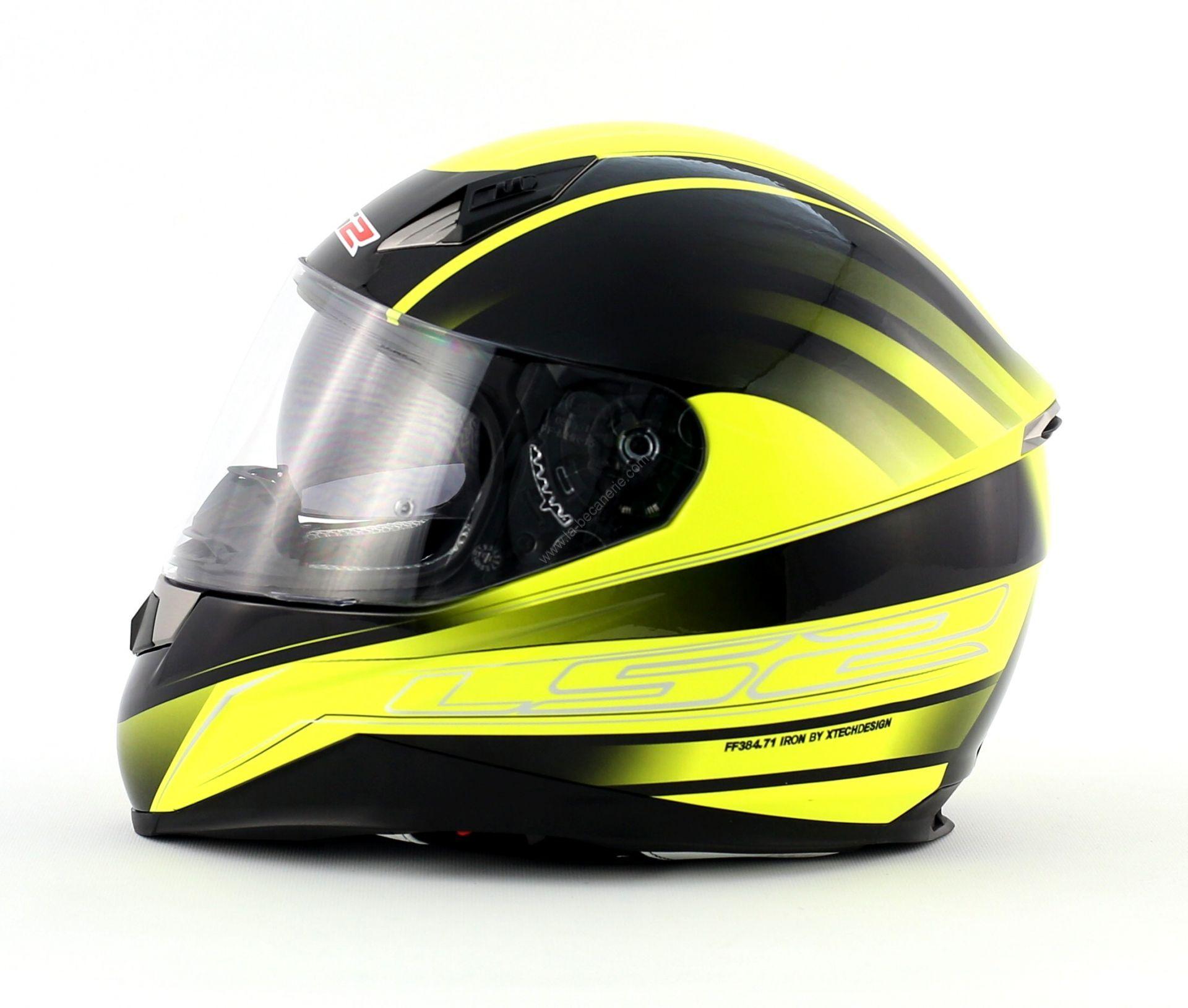casque-integral-ls2-iron-noir-jaune