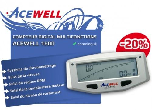compteurs digitaux ACEWELL