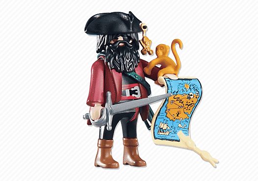 playmobile pirate