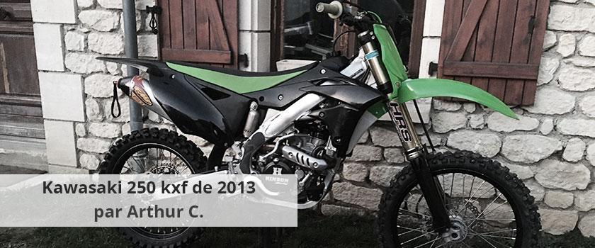 Moto Kawasaki 250 kxf