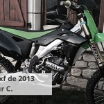 Modifications sur moto 250 KXF de 2013