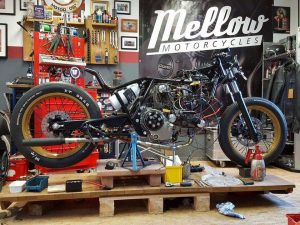 Préparation Mellow Motorcycles