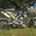 La Yamaha 250 WRX du MRH45 aux 23h60 du Mans