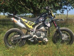La Yamaha 250 WRX du MRH45 aux 23h60