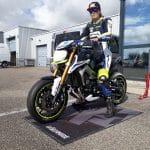 Objectif Moto Tour 2017 :  roulage de test à Issoire