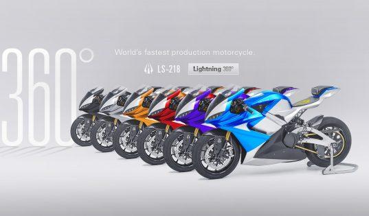 Lightning LS-218, la moto électrique la plus rapide de la production
