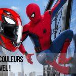 Casque moto spiderman – HJC aux couleurs des Marvel!