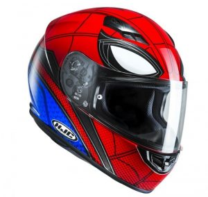 profil droit casque spider man homecoming