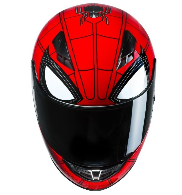 face avant casque spider man homecoming