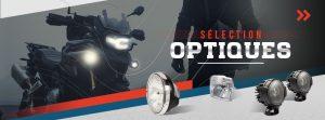 Feux, phares et optiques moto disponibles sur La Bécanerie !