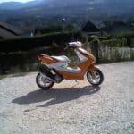 Le Scooter MBK Nitro, année 2005 de Cyril