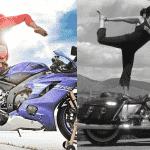 Motorcycle yoga, le nouveau sport à la mode