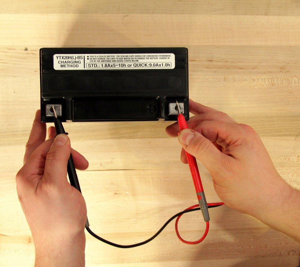 Tester une batterie