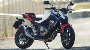TOP 10 motos pour débuter : Honda cb500f