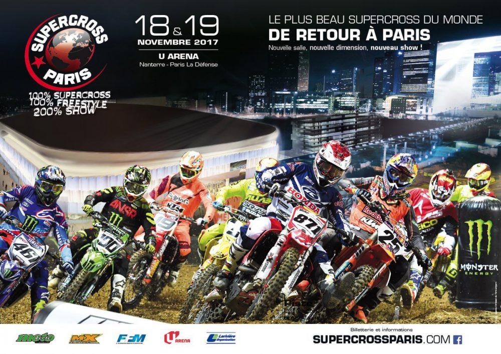 Supercross de Paris 2017