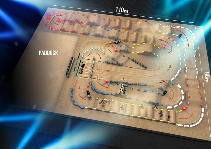 Supercross de Paris 2017, U-Arena