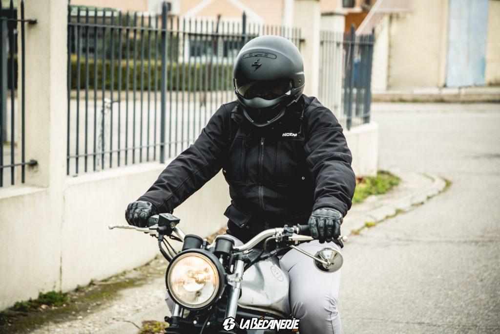 Test produit : veste moto NOEND