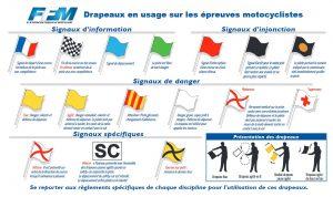 drapeaux commissaires de piste