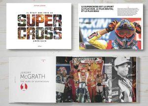 Livre moto : Iil était une fois le supercross américain
