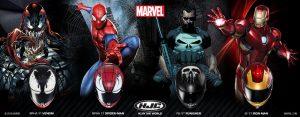Casques moto HJC Marvel
