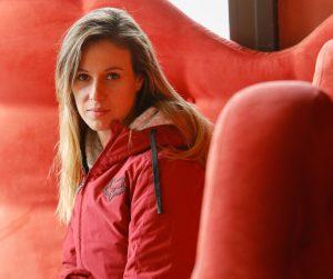 Livia Lancelot, double championne du monde de motocross en reconversion
