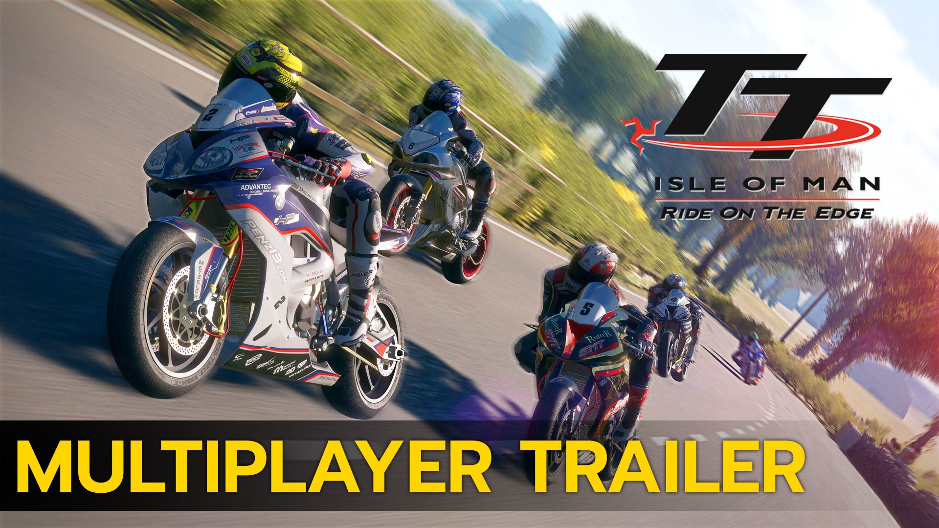 TT Isle of Man - Multiplayer Trailer