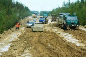 TOP 10 des routes les plus dangereuses : autoroute de la Lena en Russie