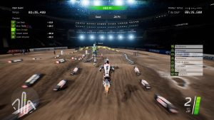 Test Monster Energy Supercross sur PS4