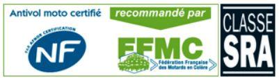 NF recommandé par la FFMC et classe SRA