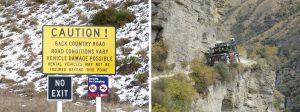 TOP 10 des routes les plus dangereuses : Skippers road en Nouvelle Zélande