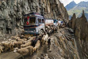 TOP 10 des routes les plus dangereuses : Zoji La en Inde