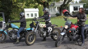 "Série documentaire ""Filles de moto"""