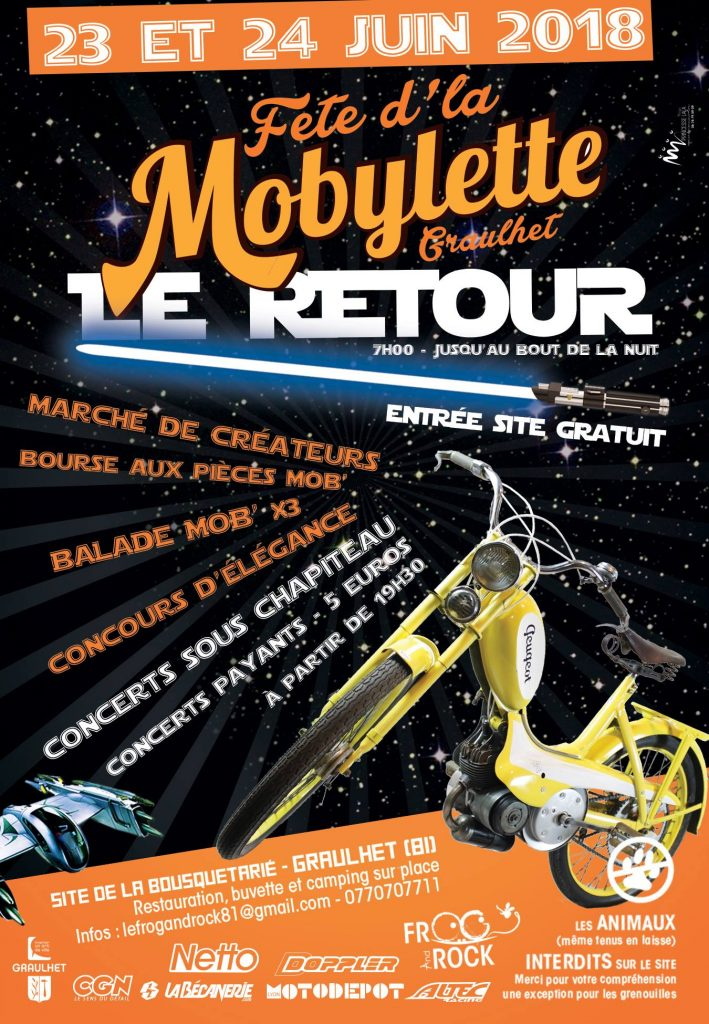 La Fête de la Mobylette revient à Graulhet (81)