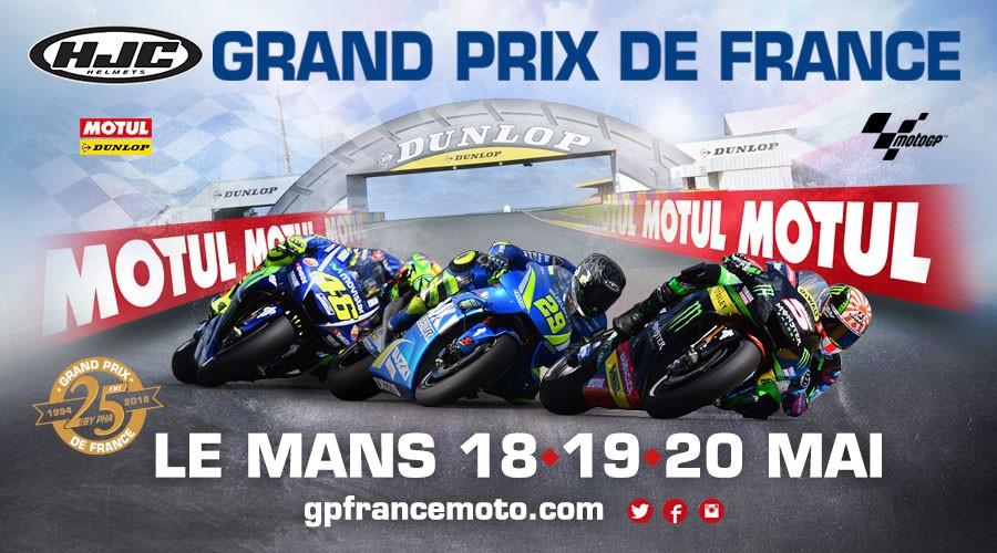 GP de France moto 2018