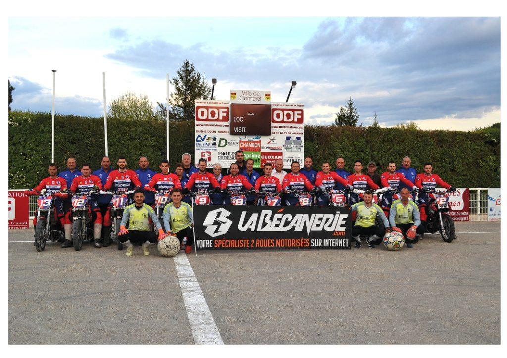 Equipe MotoBall Club de Camaret 2019