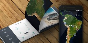 Application mobile pour les roadtrips : Polarsteps