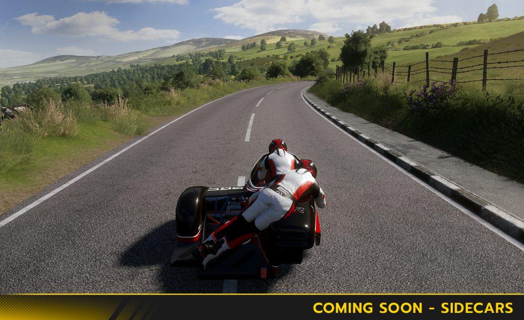 Un mode Sidecar pour compléter le jeu TT Isle of Man