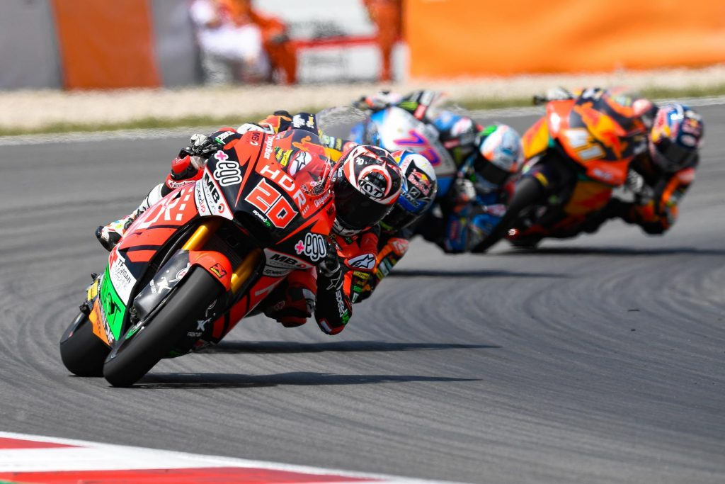 Victoire de Fabio Quartararo en Moto2