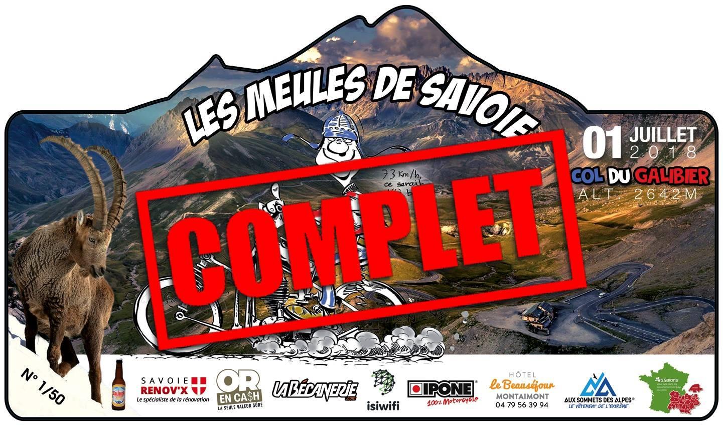 Rallye des Meules de Savoie 2018