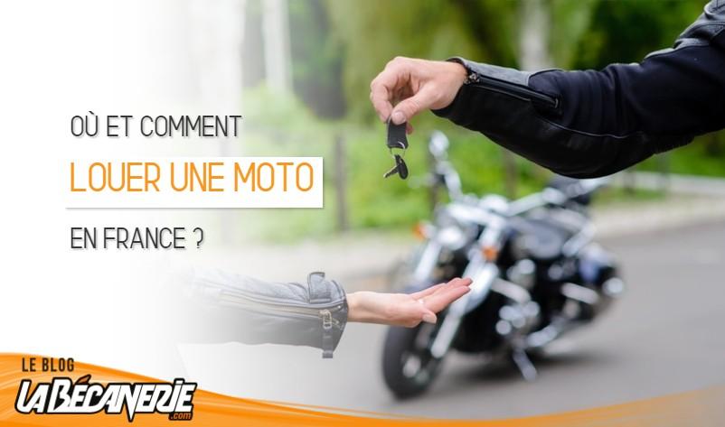 Où louer une moto en France