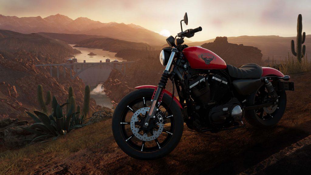 Harley Davidson dans the Crew 2