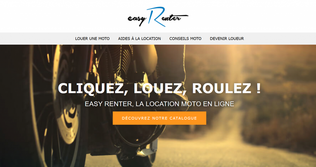 Location de moto : Easyrenter