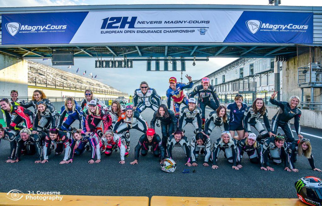 3ème manche de la Women's Cup au circuit Carole à l'occasion du WERC