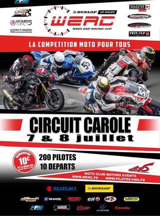 Le circuit Carole accueille la Women's Cup lors du WERC