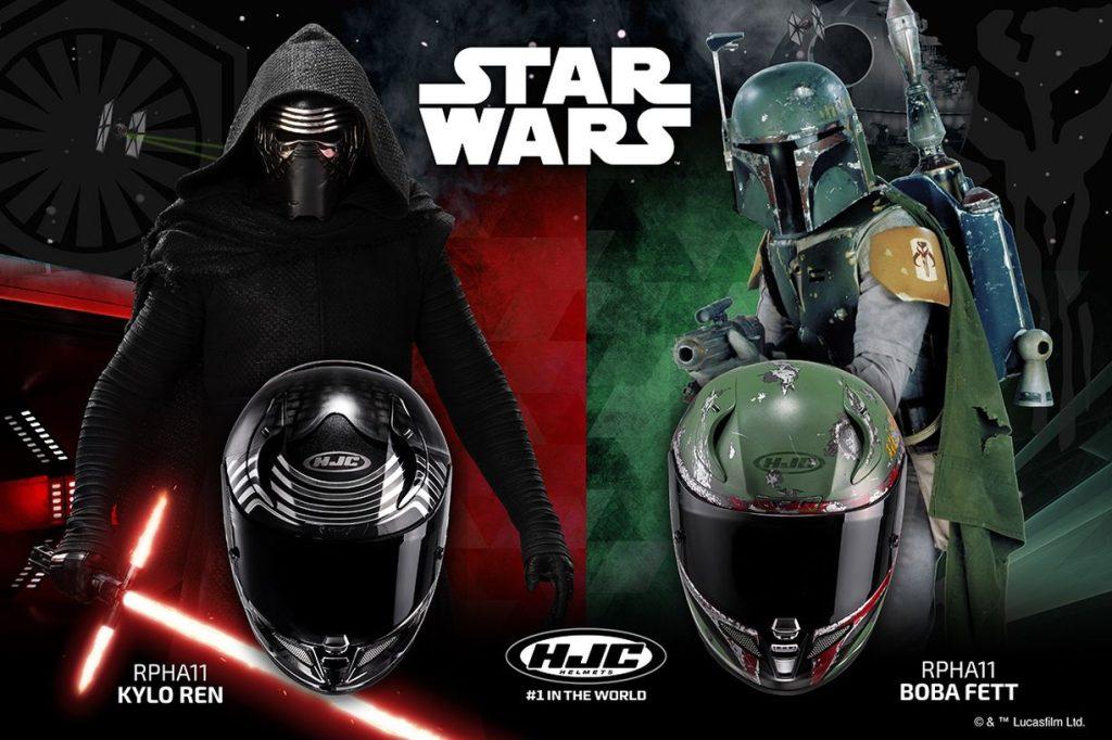 HJC casques intégraux Star Wars