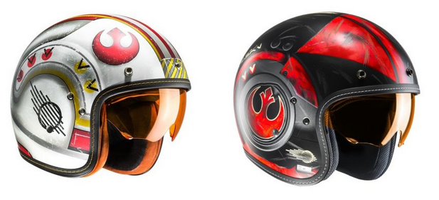 Casques jet HJC Star Wars