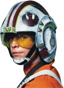 Luke Skywalker casque X-wing fighter